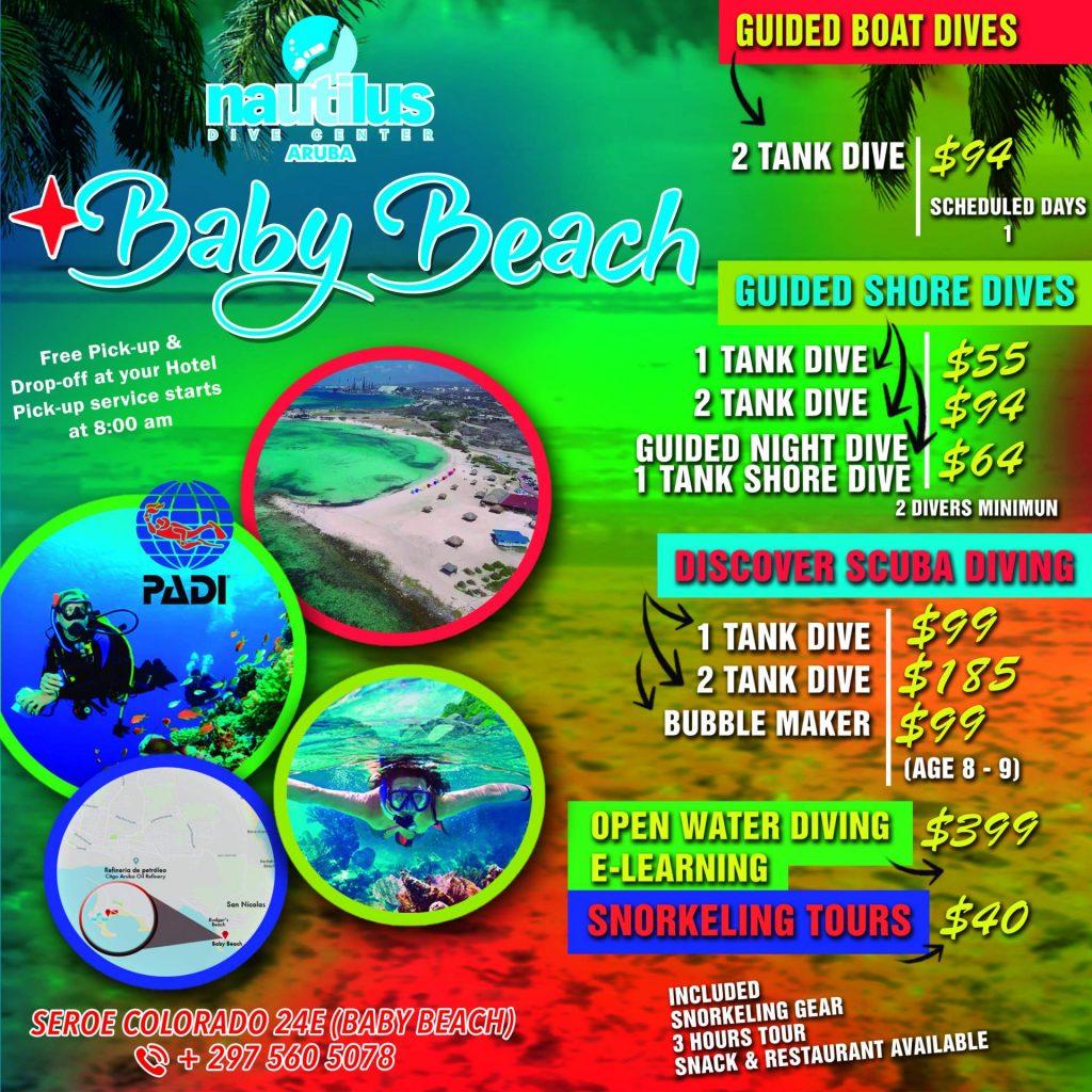 Nautilus Dive Center Baby Beach